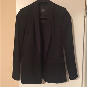 ARMANI EXCHANGE Black Blazer